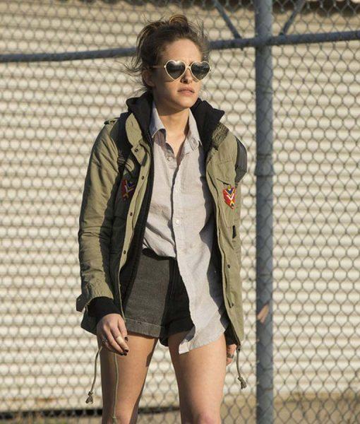 MR. Carly Chaikin Darlene Cotton Khaki Military Jacket