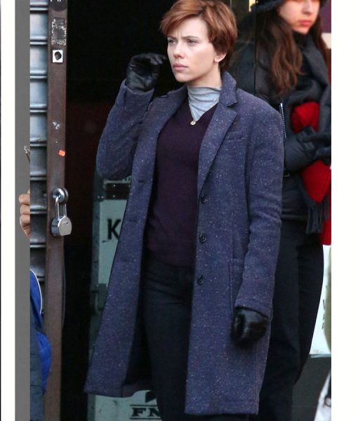 Scarlett Johansson Wool-Blend Marriage Story Coat