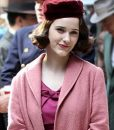 Midge Maisel Pink Long Coat