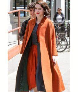 Miriam Midge Rachel Brosnahan The Marvelous Mrs.Maisel long Coat