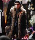 Mr. Robot Season 04 Carly Chaikin Fur Coat
