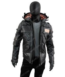 PUBG Black Jacket With Hood