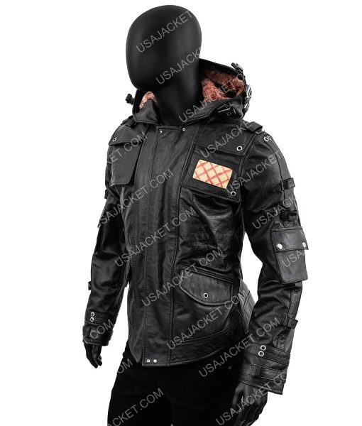 Playerunknown's Battlegrounds Leather Hooded Jacket
