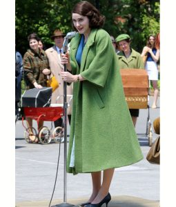 Midge Maisel The Marvelous Mrs. Maisel Green Coat