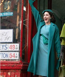 The Marvelous Mrs. Maisel Blue Midge Maisel Coat