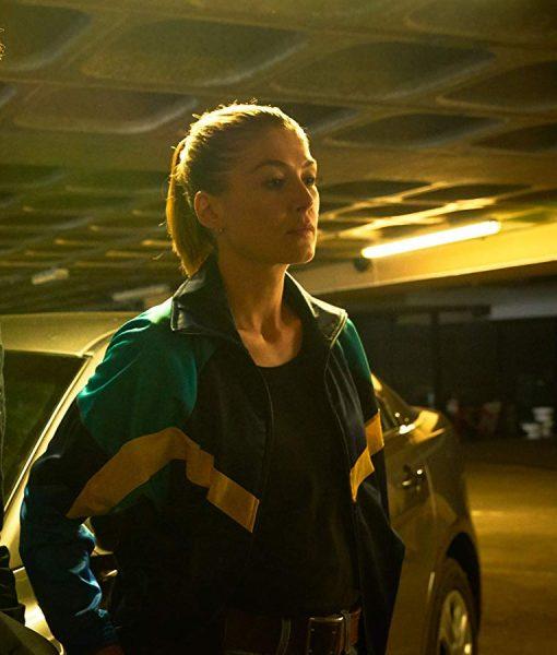 Rosamund Pike The Informer Jacket
