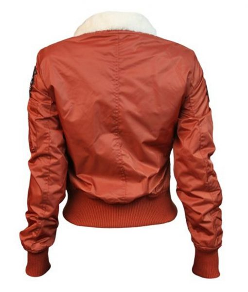 Top Gun B-15 Rust Bomber Jacket