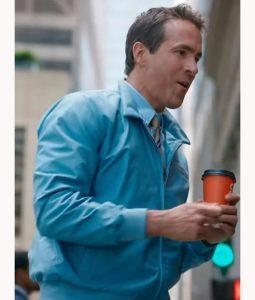 Ryan Reynolds Free Guy Bomber Jacket