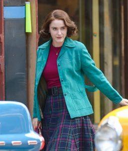 The Marvelous Mrs. Maisel Midge Maisel Cotton Jacket