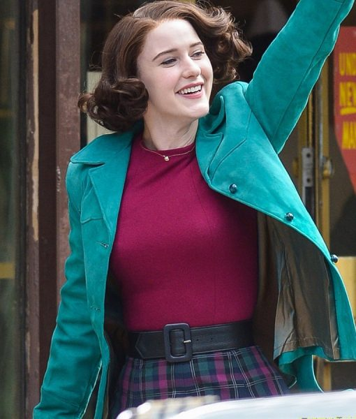 The Marvelous Mrs. Maisel Blue Cotton Midge Maisel Jacket