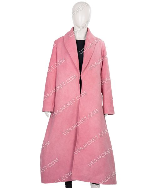 The Marvelous Mrs. Maisel Miriam Maisel Wool-blend Pink Coat
