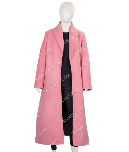 The Marvelous Mrs. Maisel Miriam Maisel Pink Long Coat