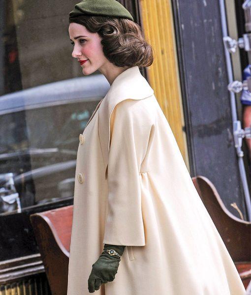 The Marvelous Mrs.Maisel Beige Coat