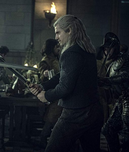 The Witcher Corduroy Geralt of Rivia Jacket