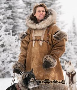 Togo Willem Dafoe Leonhard Seppala Shearling Coat With Hood