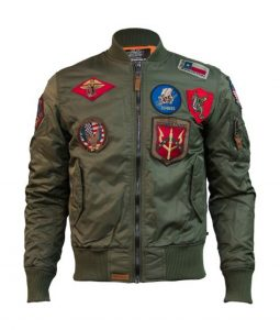 Top Gun Ma-1 Jacket With Patches