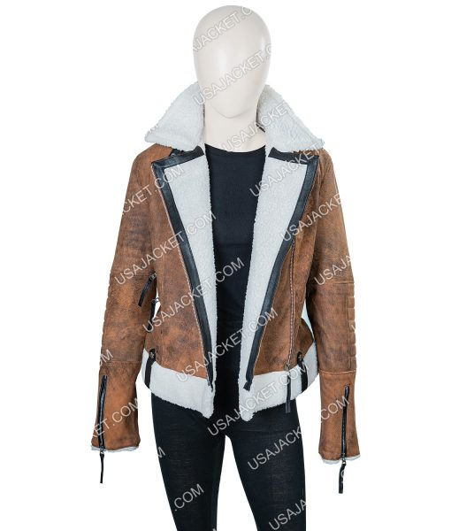Virgin River Melinda Monroe Suede Leather Jacket