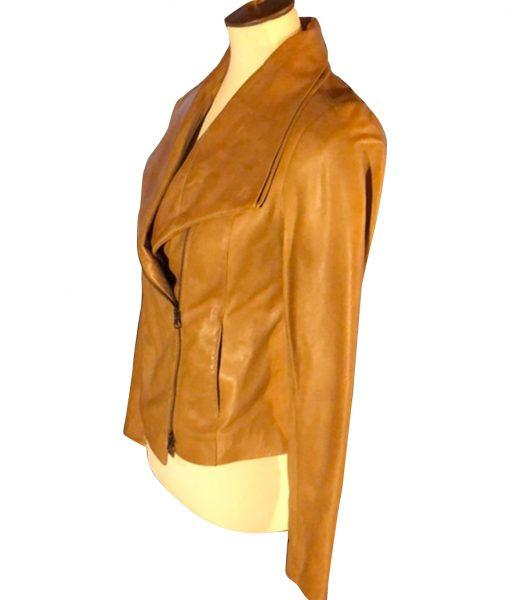 Virgin River Melinda Monroe Leather Jacket