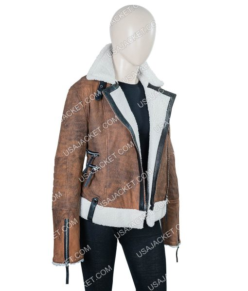 Virgin River Melinda Monroe Leather Jacket