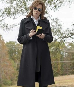 Watchmen Jean Smart Black Coat