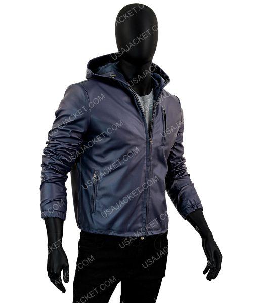 Wright Mens Slimfit Hooded Jacket