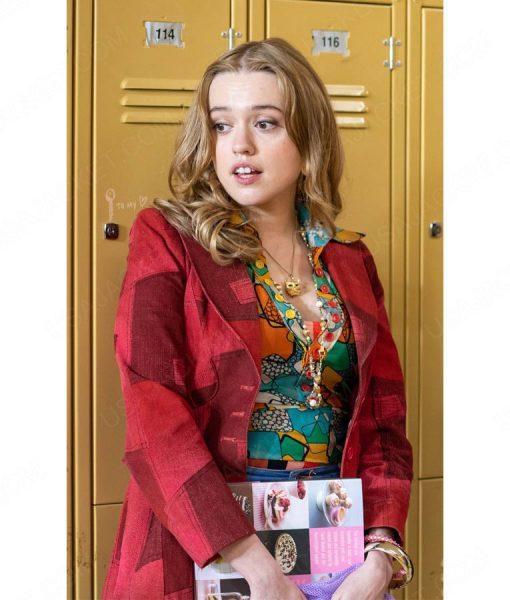 Aimee Lou Wood Sex Education Season 02 Blazer Jacket