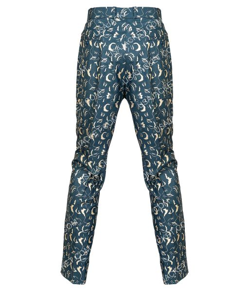 BOP Black Mask Printed Pants