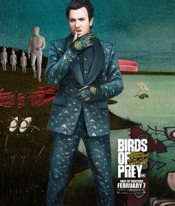 birds of prey Black mask Suit