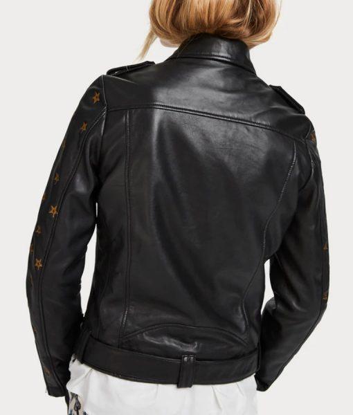 Nicole Kang Leather Jacket