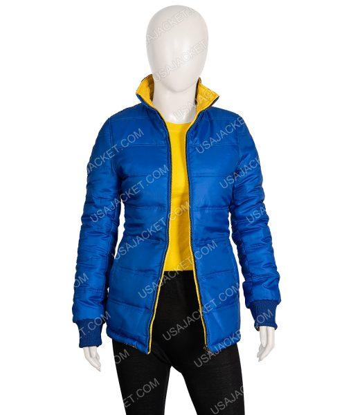 Blue Puffer Billie Eilish Jacket