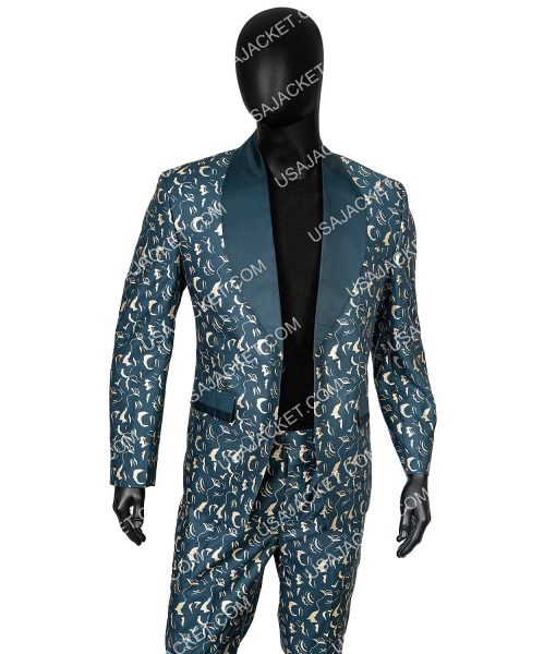 Birds Of Prey Black Mask Tuxedo Suit