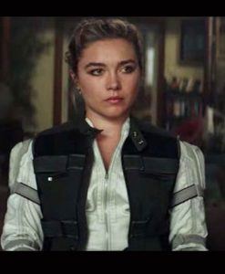 Florence Pugh Black Widow 2021 Vest