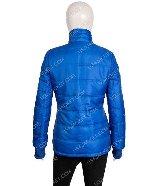 Billie Eilish Blue Puffer Jacket