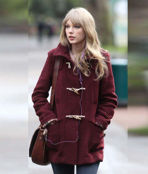 Taylor Swift Bound Seam Toggle Coat