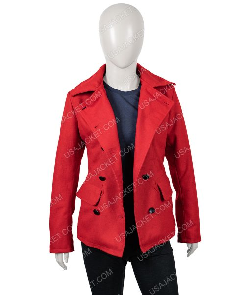 Brooke D'Orsay Red Coat
