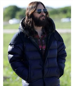 Jared Leto Morbius Puffer Jacket With Hood