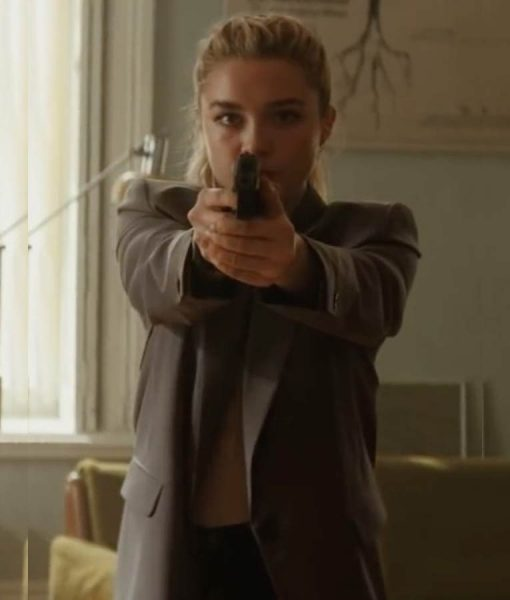 Florence Pugh Black Widow 2021 Blazer Jacket