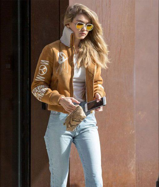 Gigi Hadid Bomber Jacket