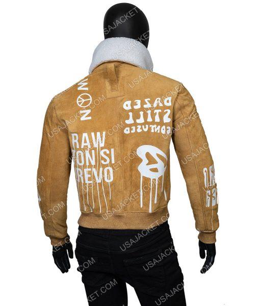 Gigi Hadid Sherpa Collar Jacket