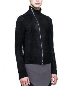 Tommy Egan S6E12 Black Zip Up Leather Jacket