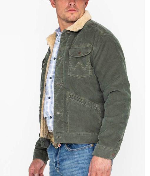 High School Musical Green Sherpa Jacket