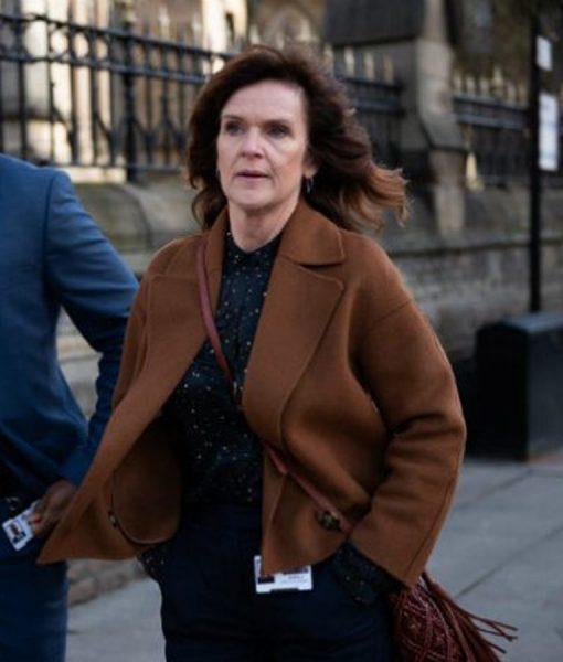 The Stranger Johanna Griffin brown jacket