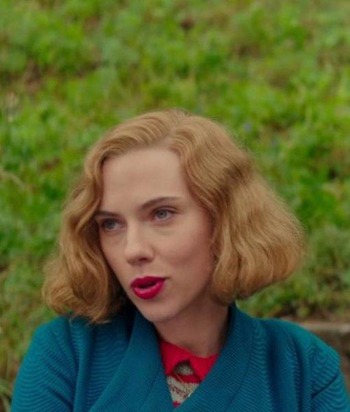 Jojo Rabbit Scarlett Johansson Blue Coat