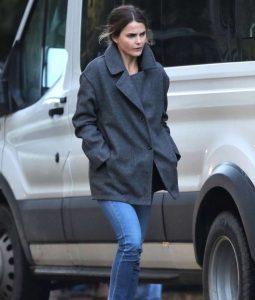 Julia Meadows Grey Antlers Coat
