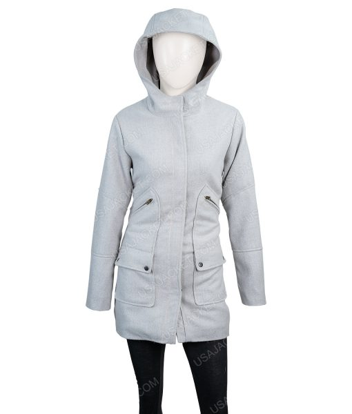 Knives Out Ana De Armas Coat With Hood