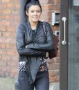 Kym Marsh Black Waterfall Jacket