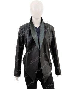 Kym Marsh Black Waterfall Jacket