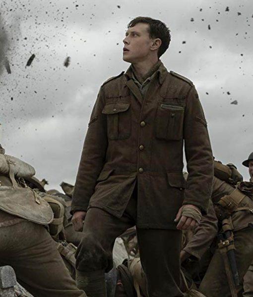 Lance Corporal Schofield 1917 George MacKay Jacket