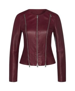 Leilani The Lovebirds Leather Jacket