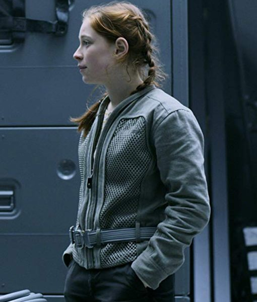 Lost In Space Mina Sundwall Cotton Jacket